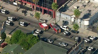 Hollywood police shoot dead machete-wielding man after robbery, carjacking