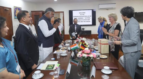 India, Germany sign MoU regarding cooperation between select Museums of both nation