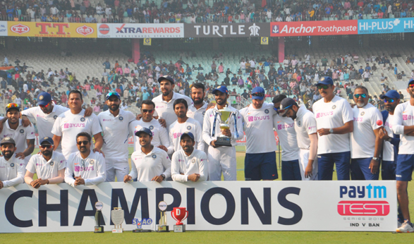 Kohli & Co. consolidate top spot in ICC Test Championship