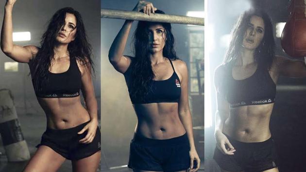 Katrina in Reebok's new fitness campaign