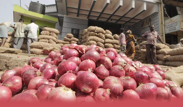 Onion price eases by Rs 50 in Bengaluru market