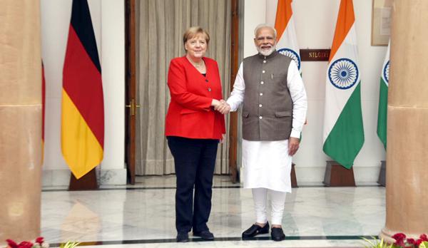 PM meets Chancellor Merkel, seeks enhanced ties in multiple sectors