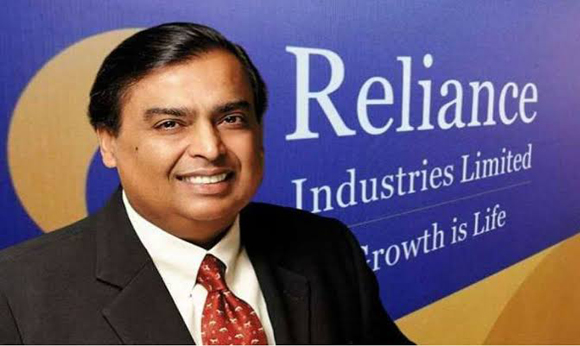 RIL 1st Indian co. to cross Rs 10-lakh-cr market cap
