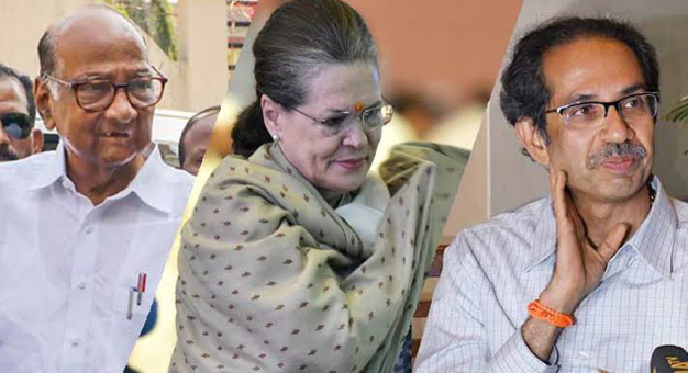 Shiv Sena, NCP & Cong united in their resolve to defeat BJP's manipulations in Mah: Sonia