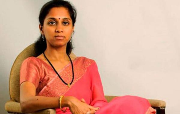 'Party and Family splits' WhatsApp status of Supriya sule