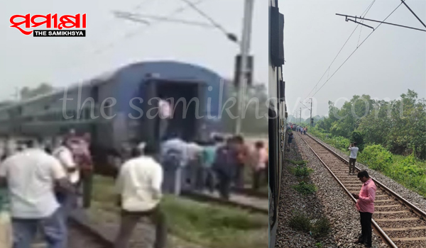 Few coaches of Visakha Express detached near Balugaon station, all passengers safe