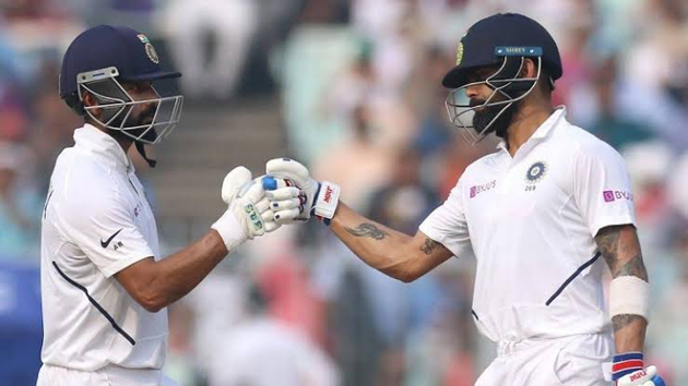 Kohli-Rahane achieve another feat in Test cricket