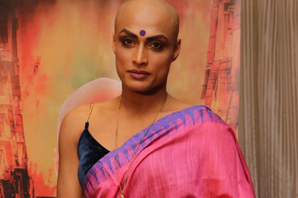 "Mumbai: Actress and transwoman Ivanka Das at a press conference during the promotions of their upcoming web series ""Ye Hai #Mandi"" in Mumbai on Dec 21, 2019. (Photo: IANS)"
