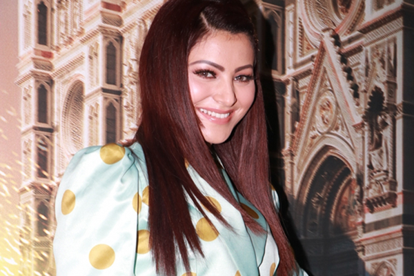 "Mumbai: Actress Urvashi Rautela at the screening of their upcoming Netflix web series ""6 Underground"", in Mumbai on Dec 12, 2019. (Photo: IANS)"