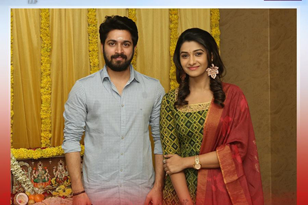 "Hyderabad: Harish Kalyan-Priya Bhavanishankar starrer ""Pelli Choopulu""€ Tamil Remake Shooting takes off. (Photo: IANS)"