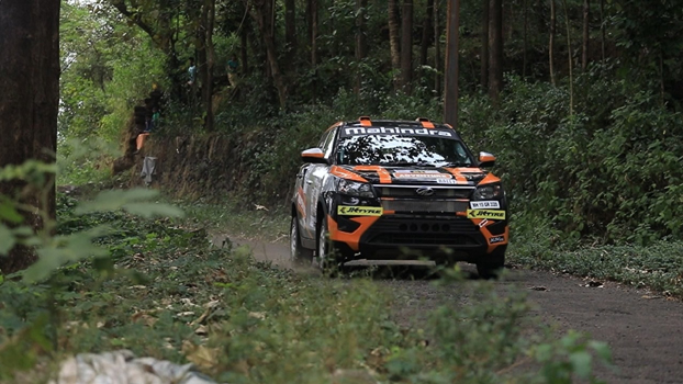 Gaurav Gill sparkles on Day 1 of INRC.