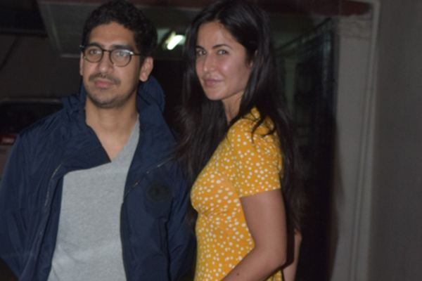 Mumbai: Filmmaker Ayan Mukerji and actress Katrina Kaif seen at the office of Dharma Productions in Mumbai's Khar, on Dec 27, 2019. (Photo: IANS)