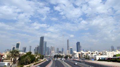 (191216) -- KUWAIT, Dec. 16, 2019 (Xinhua) -- Photo taken on Dec.15, 2019 shows the city view of Kuwait City, capital of Kuwait. (Photo by Ghazy Qaffaf/Xinhua)