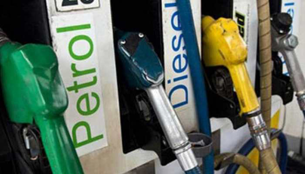 Diesel up by 17-18 paise, no change in petrol price