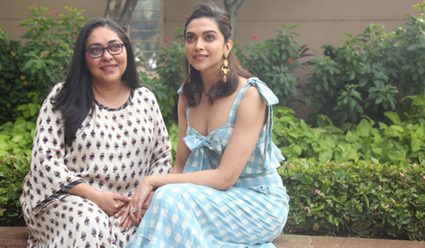 "Mumbai: Director Meghna Gulzar and actress Deepika Padukone during the promotions of their upcoming film ""Chhapaak"" in Mumbai on Dec 21, 2019. (Photo: IANS)"