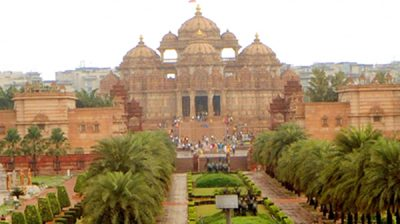 Akshardham Temple. (File Photo: IANS)