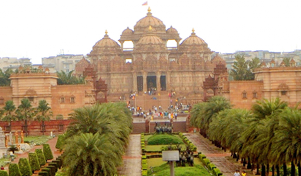 Akshardham Temple. (File Photo: IANS)