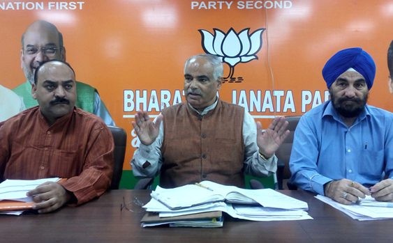Delimitation in J&K by month-end: BJP