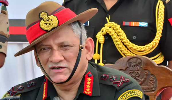 Day after appointed as CDS, Gen Rawat visits War Memorial