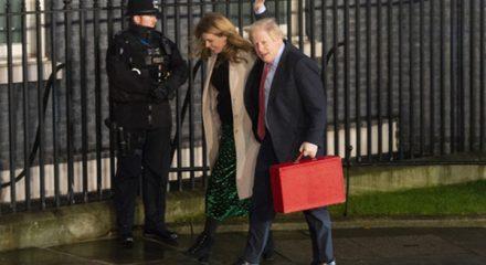 Where's Boris Johnson? Twitterati have some fun