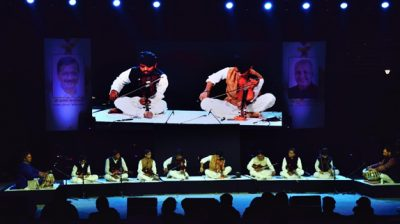 New Delhi: Artistes perform during the 9th edition of the Youth Festival at Central Park in New Delhi on Dec 6, 2019. (Photo: IANS)