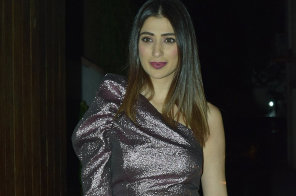 Mumbai: Actress Raai Laxmi during the celebration of Krishika Lulla's birthday party, in Mumbai on Dec 7, 2019. (Photo: IANS)