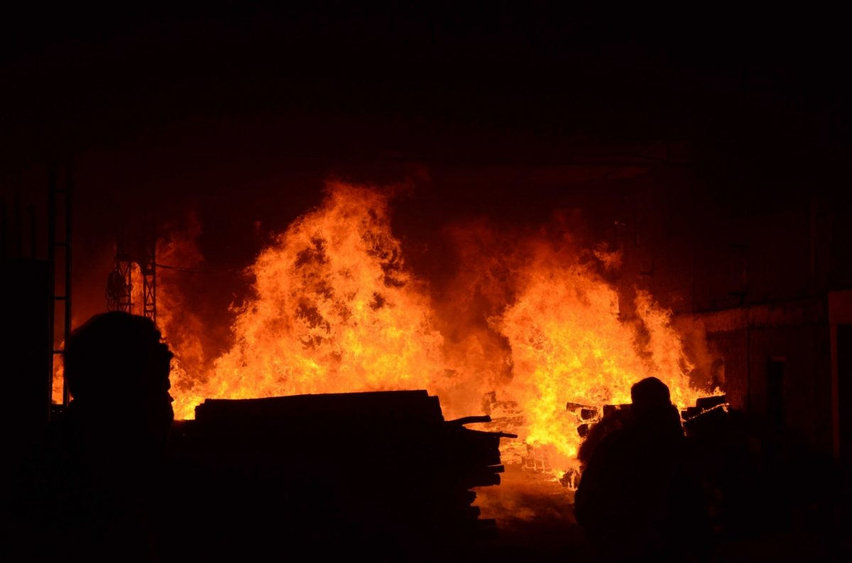 Fire in printing press in Delhi; 1 dead
