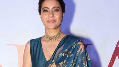 "New Delhi: Actress Kajol Devgn at the second trailer launch and press conference of her upcoming film ""Tanhaji: The Unsung Warrior"" in New Delhi on Dec 16, 2019. (Photo: Amlan Paliwal/IANS)"