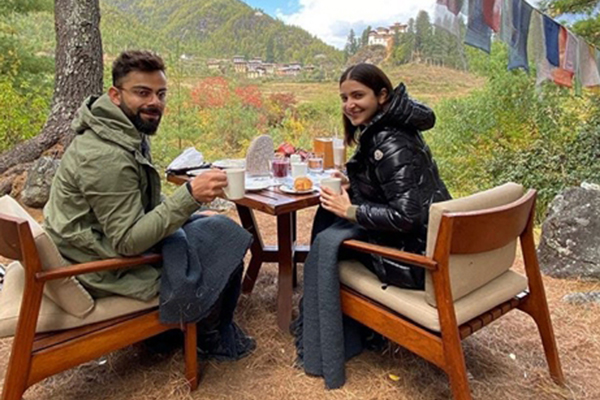 The best photographer: Kohli on wife Anushka