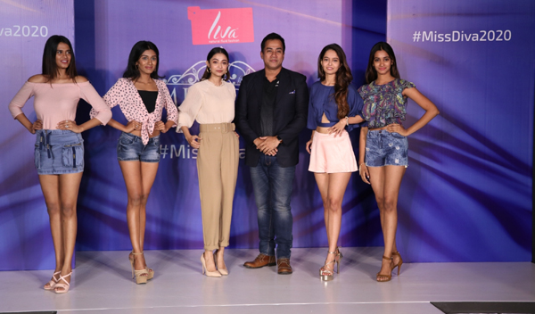 Kolkata: Kolkata Audition winners during Miss Diva 2020 Kolkata audition in Kolkata on Nov 24, 2019. (Photo: IANS)