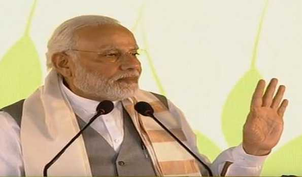 PM tells Cong to protest against Pakistan, not CAA