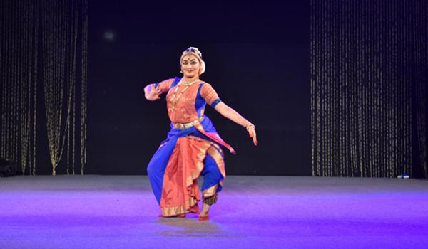 New Delhi: A dancer performs during Sopan Festival organised by Sahitya Kala Parishad in New Delhi on Dec 17, 2019. (Photo: IANS)