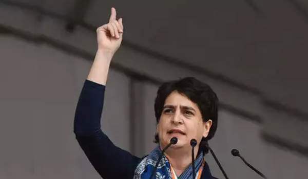Priyanka Gandhi attacks Modi over CAA, jobs, economy