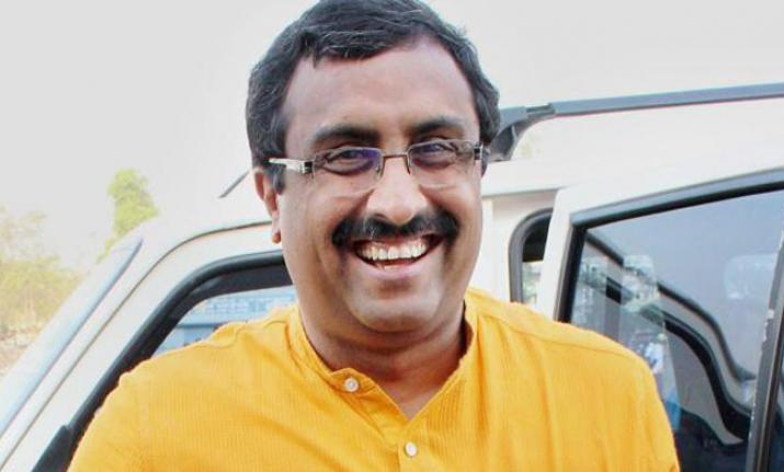 J&K politicians' release at appropriate time: Ram Madhav