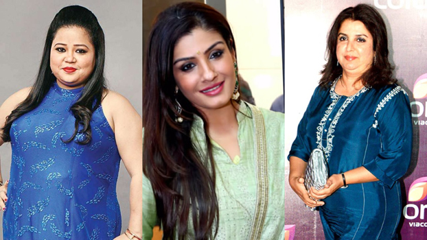 Raveena, Farah, Bharti booked for hurting Christian sentiments