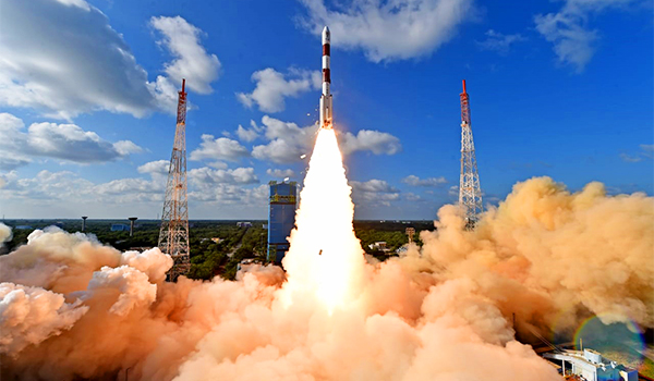 History in making, PSLV-C48 with RISAT-2BR1 and 9 commercial satellites lifts off
