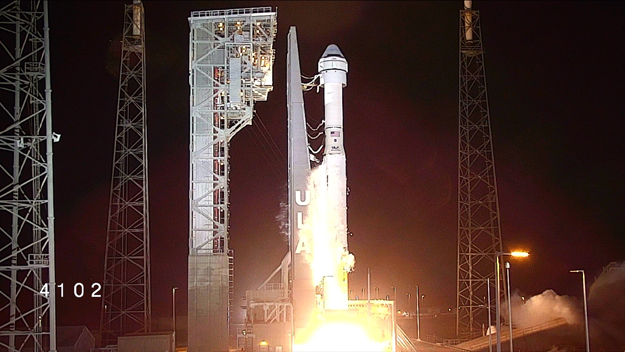 The United Launch Alliance Atlas V rocket with Boeing's CST-100 Starliner spacecraft atop lifts off from Space Launch Complex 41 at Cape Canaveral Air Force Station in Florida on Dec. 20, 2019. Liftoff time was 6.36 a.m. EST. (Photo Courtesy: NASA)