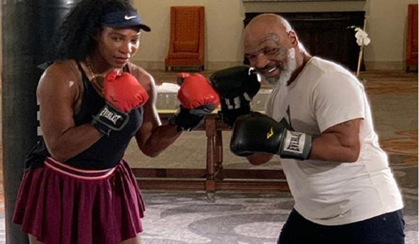Don't want to get in ring with GOAT: Tyson on Serena's boxing session