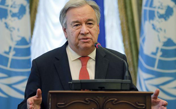 The world is watching: UN Chief at climate talks