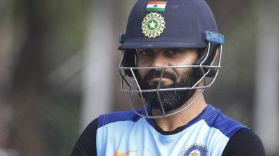 Hyderabad: Indian skipper Virat Kohli during a practice session ahead of the first Twenty20 match against West Indies at Rajiv Gandhi International Cricket Stadium in Hyderabad on Dec 5, 2019. (Photo: Surjeet Yadav/IANS)