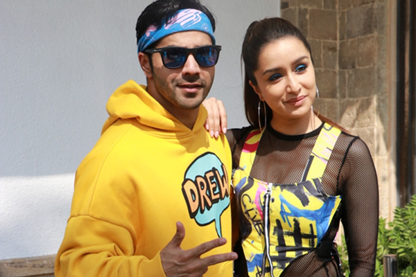 "Mumbai: Actors Varun Dhawan and Shraddha Kapoor during the promotions of their upcoming film ""Street Dancer 3D"" in Mumbai on Jan 23, 2020. (Photo: IANS)"