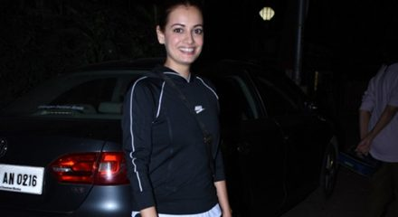 Mumbai: Actress Dia Mirza seen at at Bandra in Mumbai on Jan 2, 2020. (Photo: IANS)