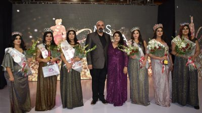New Delhi: Winners of Miss India Curvy 2020 at the grand finale of Miss India Curvy 2020 in New Delhi on Jan 5, 2020. (Photo: IANS)
