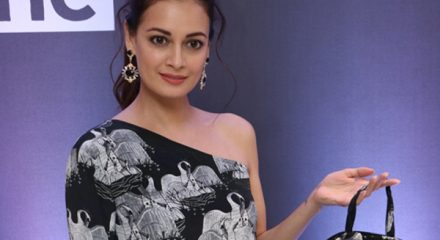 Mumbai: Actress Dia Mirza at the launch of latest collection of fashion designer Masaba Gupta, in Mumbai on Jan 23, 2020. (Photo: IANS)