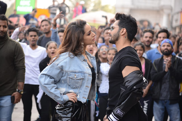 """New Delhi: Actors Shraddha Kapoor and Varun Dhawan at the launch of the song """"Illegal Weapon 2.0"""" from their upcoming film """"Street Dancer 3D"""" in New Delhi on Jan 4, 2020. (Photo: IANS)"""