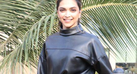 "Mumbai: Actress Deepika Padukone during the promotions of her upcoming upcoming film ""Chhapaak"" in Mumbai on Jan 2, 2020. (Photo: IANS)"