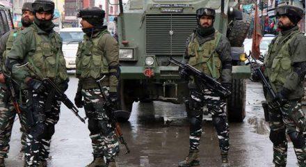 CRPF jawan injured in terrorist attack in Kashmir