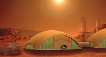 NASA building homes made of fungi for Moon, Mars