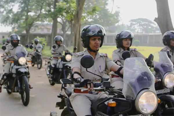 All police women motorcycle brigade formed in Bengaluru