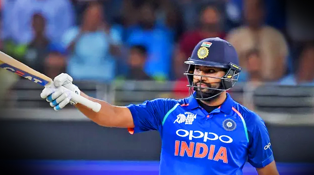 Good to be back on the park: Rohit starts outdoor training